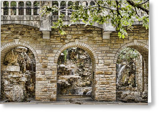 Riverwalk Archways Greeting Card