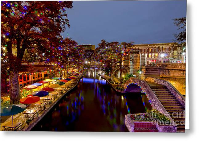Riverwalk Christmas Greeting Card