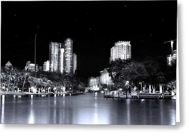 Riverwalk Greeting Card