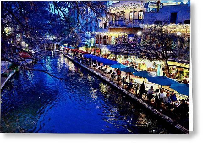 Greeting Card featuring the photograph Riverwalk by Ricardo J Ruiz de Porras