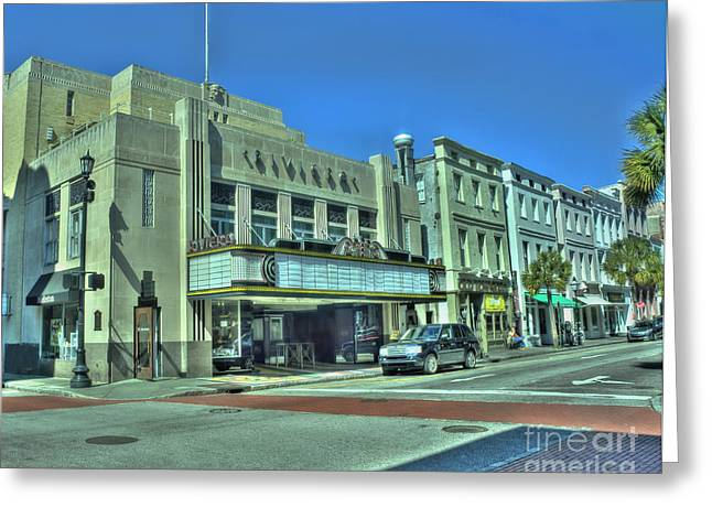 Riviera Theatre Greeting Card