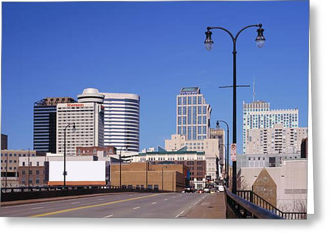 Road Into Downtown Nashville Greeting Card