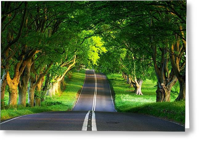 Road Pictures Greeting Card by Marvin Blaine