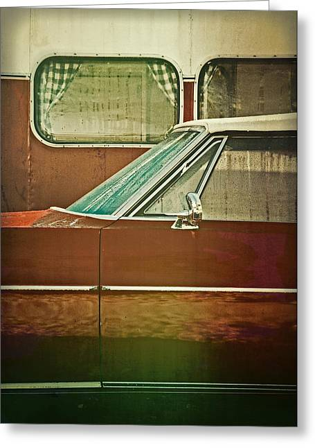Road Ready Greeting Card by Odd Jeppesen