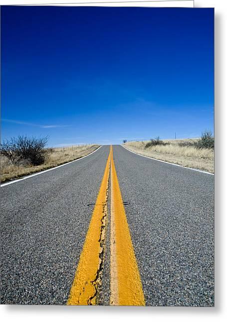 Road Through Sulphur Flats Greeting Card by Jim DeLillo