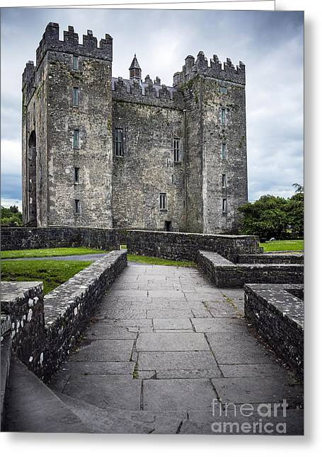 Road To Castle Greeting Card by Svetlana Sewell