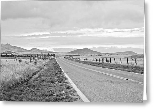 Road To Elgin Greeting Card by Swift Family