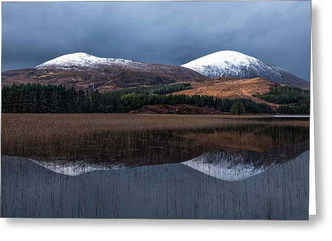 Road To Elgol Greeting Card