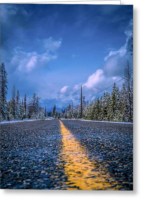 Greeting Card featuring the photograph Road To Home by Rob Tullis