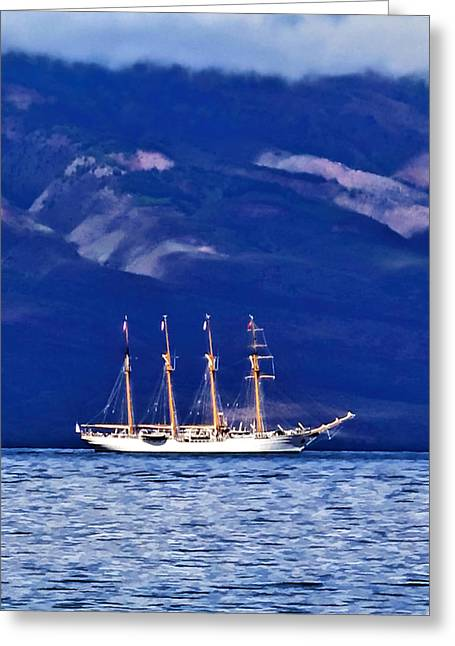 Greeting Card featuring the photograph Road To Lahaina 34 by Dawn Eshelman