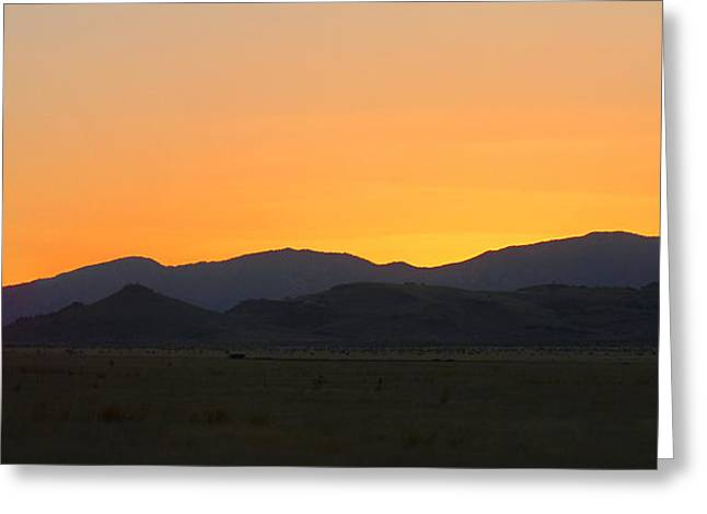 Road To Marfa #1 Greeting Card by Paul Anderson