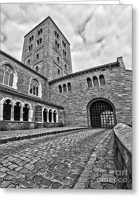 Road To The Gatehouse Greeting Card