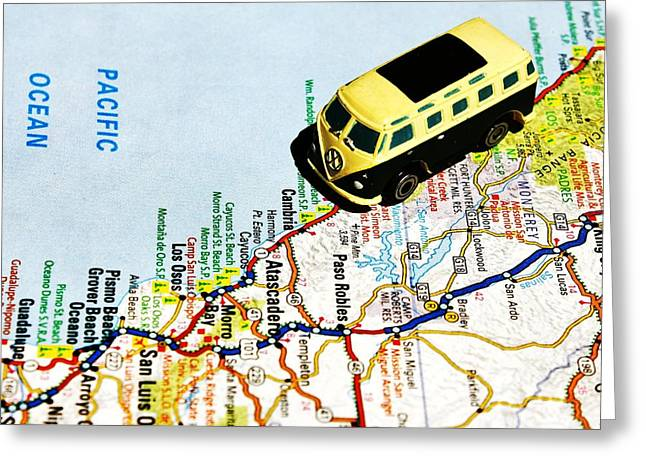 Road Trip - The Pch Greeting Card
