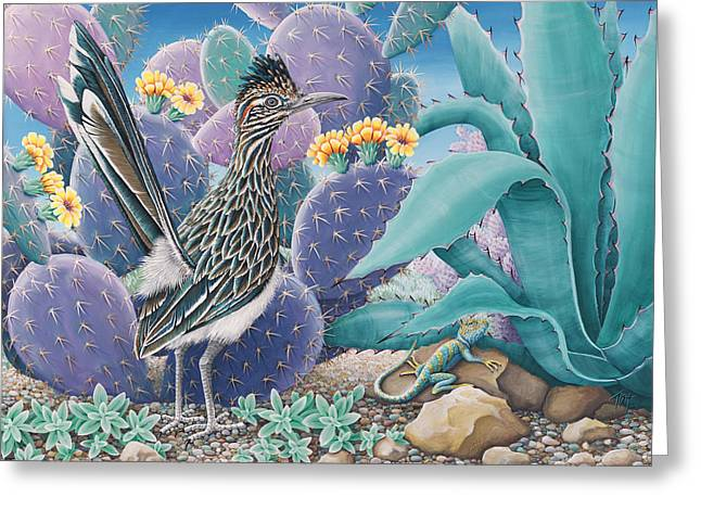 Roadrunner Greeting Card