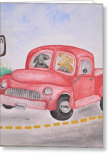 Roadtrip Greeting Card by Kimberly  Daily