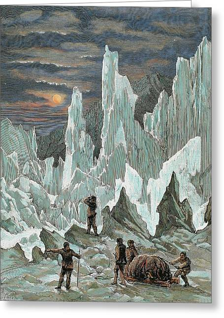 Roald Engebrecht Amundsen (borge, 1872 Greeting Card by Prisma Archivo