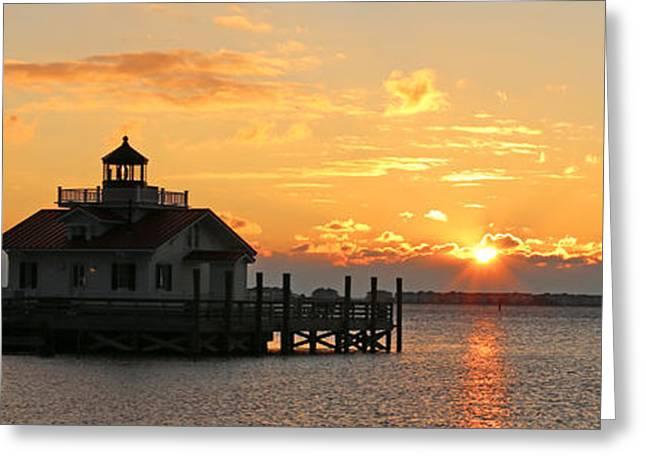 Roanoke Marshes Lighthouse 3209 Greeting Card
