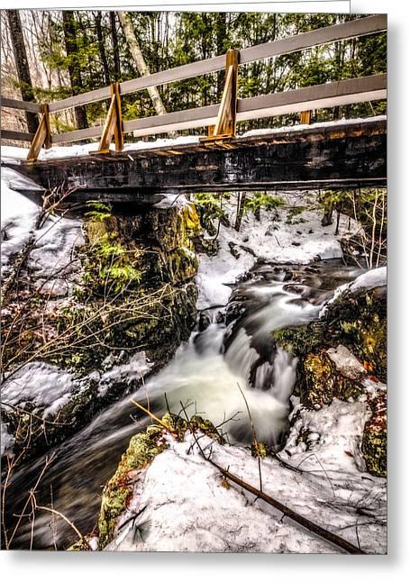 Roaring Falls Bridge Greeting Card