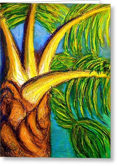 Greeting Card featuring the drawing Roatan Revel by D Renee Wilson