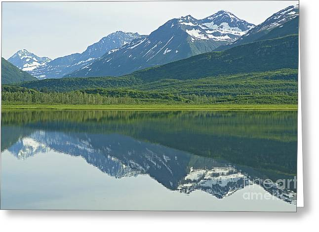 Greeting Card featuring the photograph Robe Lake by Nick  Boren