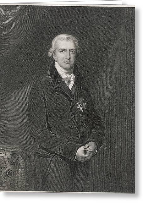 Robert Banks Jenkinson (1770-1828) Greeting Card by Mary Evans Picture Library