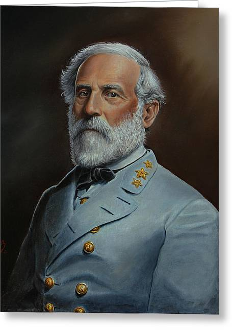 Robert E. Lee Greeting Card