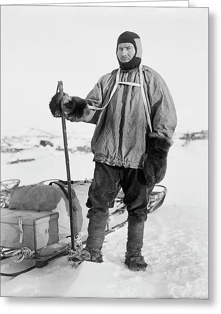 Robert Forde Greeting Card by Scott Polar Research Institute