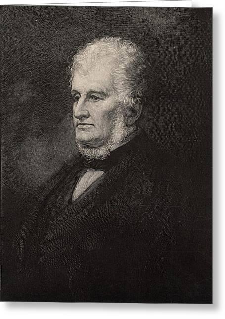 Robert Hare (1781-1858) American Chemist Greeting Card