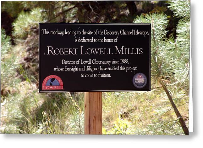 Robert Lowell Millis Greeting Card by Jeri lyn Chevalier