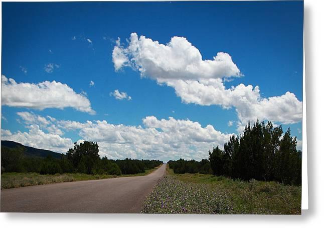 Robert Melvin - Fine Art Photography - Anvil Rock Road Greeting Card