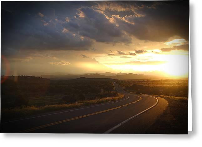 Robert Melvin - Fine Art Photography - Arizona Sunset Greeting Card