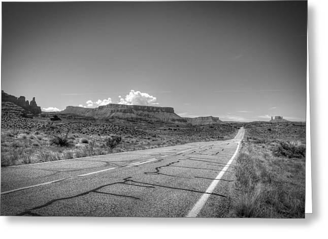 Robert Melvin - Fine Art Photography - Highway 128 Greeting Card
