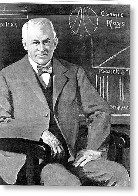 Robert Millikan Greeting Card by California Institute Of Technology
