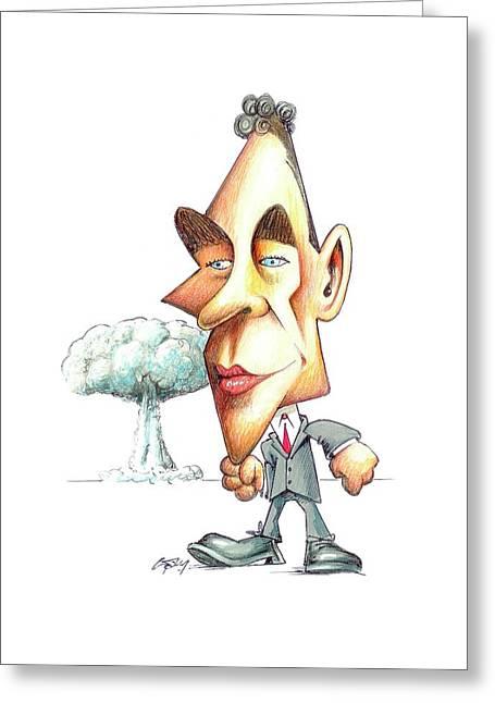 Robert Oppenheimer Greeting Card