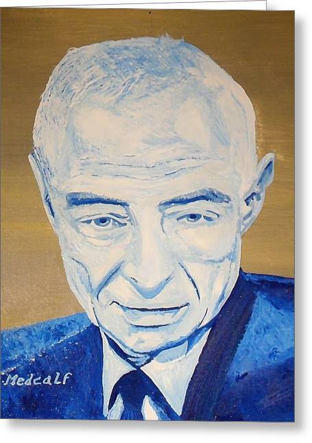 Robert Oppenheimer Greeting Card