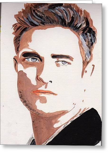 Robert Pattinson 144 Greeting Card