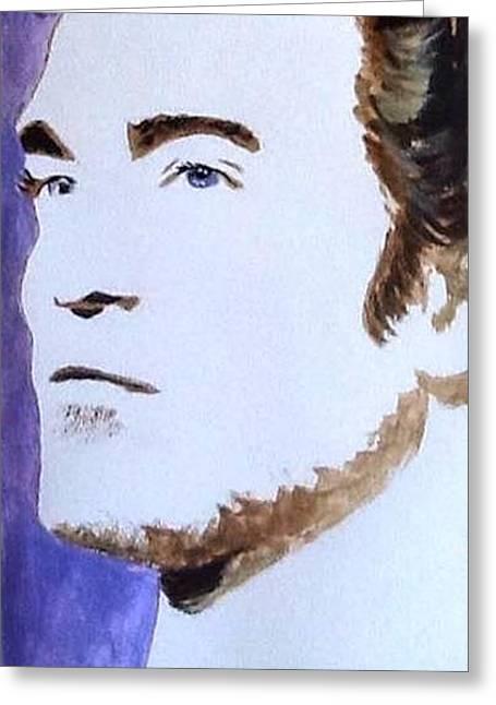 Robert Pattinson 219 Greeting Card