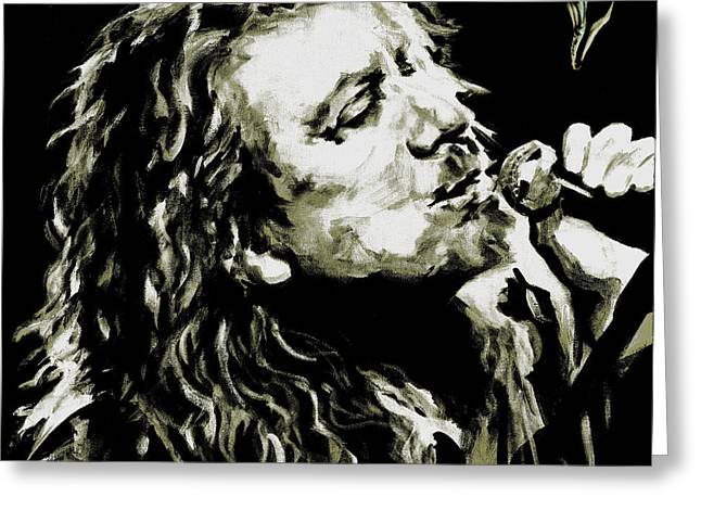 Robert Plant. The Lullaby And The Ceaseless Roar Greeting Card
