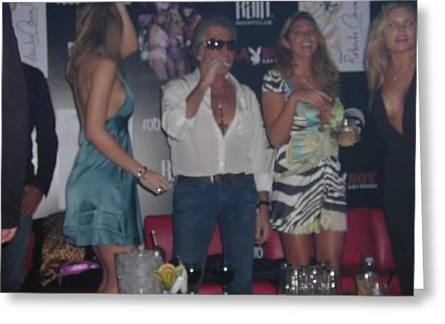 Roberto Cavalli Las Vegas Greeting Card by Frantz Hall