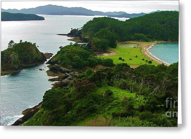 Roberton Island Greeting Card