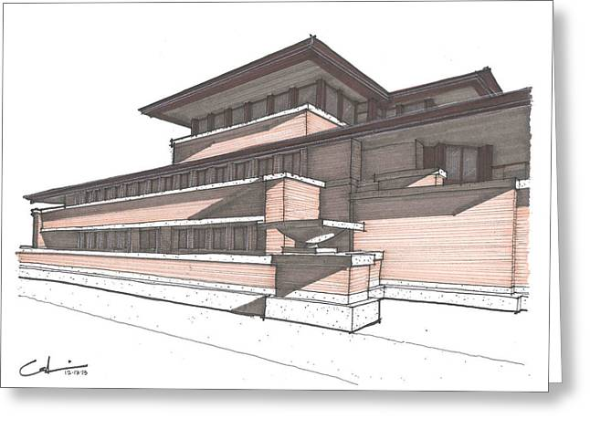 Robie House Greeting Card