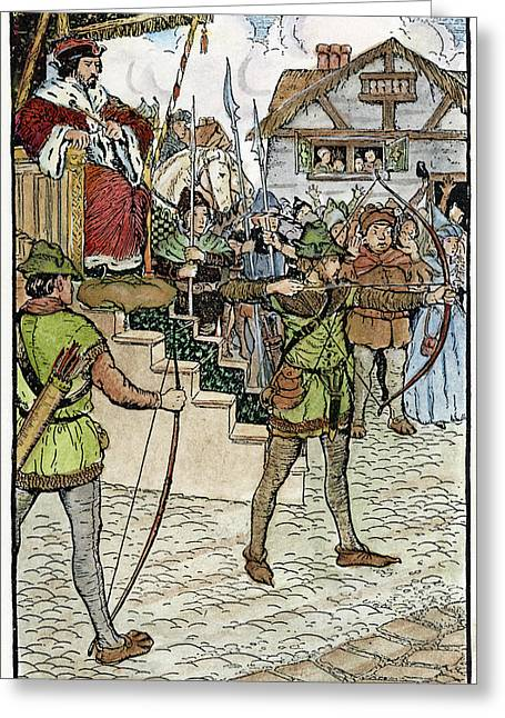Robin Hood, 1914 Greeting Card