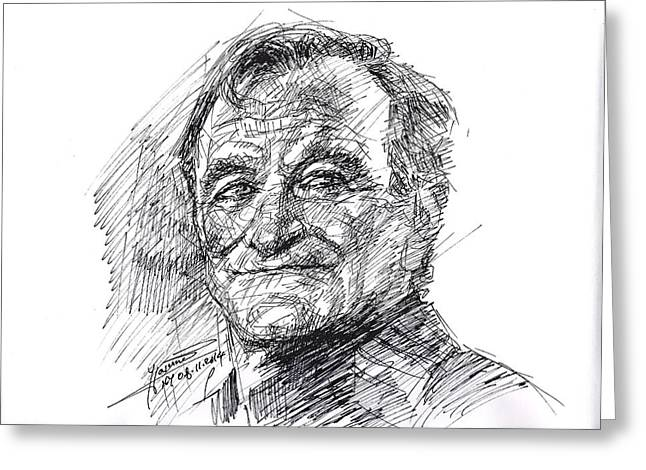 Robin Williams Greeting Card