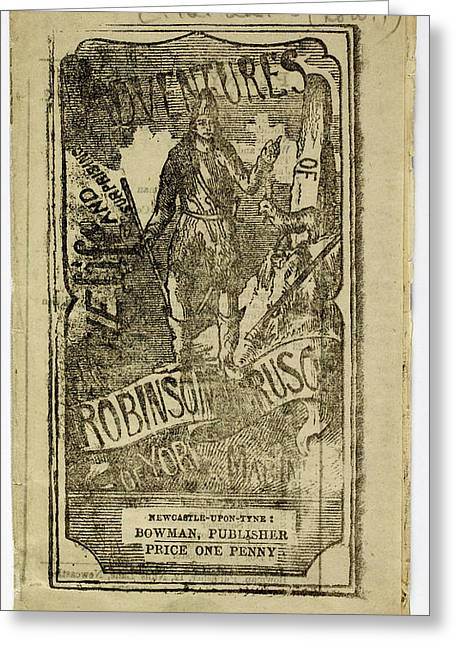 Robinson Crusoe Greeting Card
