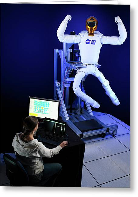 Robonaut 2 Research Laboratory Greeting Card