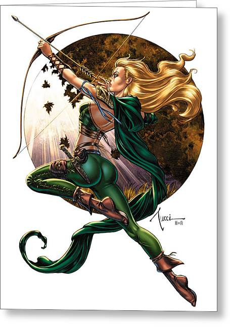 Robyn Hood 01h Greeting Card