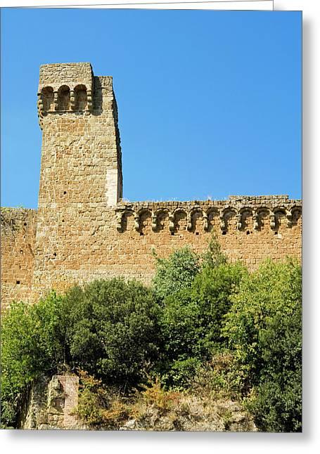 Rocca Aldobrandesca, (11th Century Greeting Card by Nico Tondini