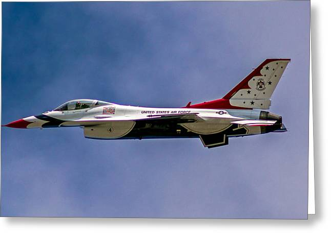 Rochester Air Show Thunderbirds Greeting Card