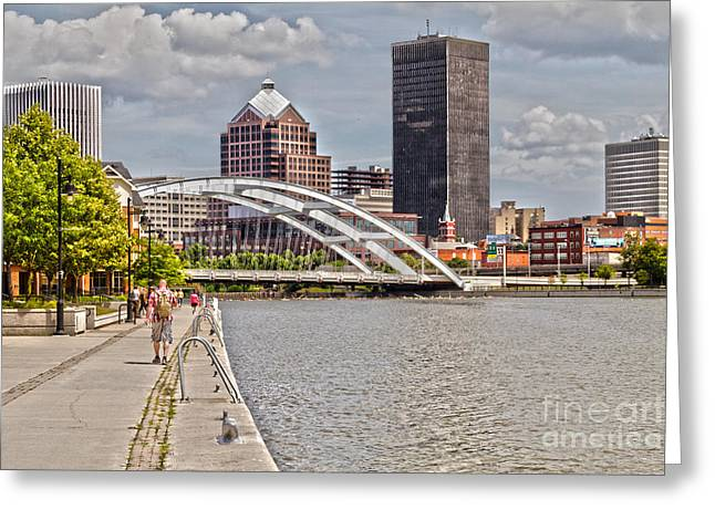 Rochester By The River Greeting Card by William Norton