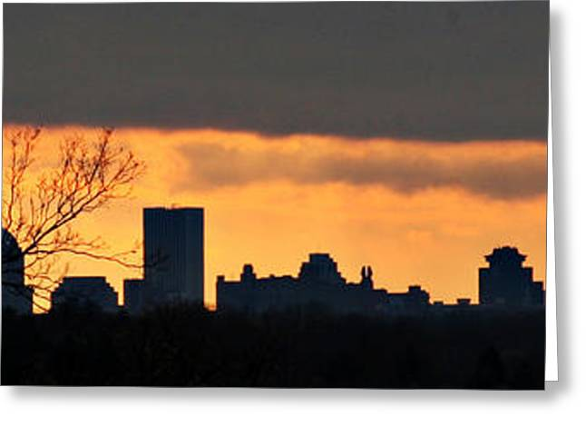 Rochester Skyline Greeting Card